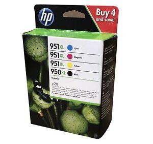 Neu HP Multipack 950XL 951XL C2P43AE Tintenpatronen A