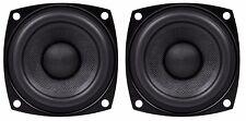 "NEW PAIR 2.5"" 2 1/2"" Ultra High Performance Mini Speaker Woofer Driver 4 / 8 Ohm"