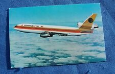 Continental Airlines DC-10 post card.
