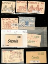 Canada - small collection of booklets Mint Nh