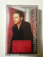 Simply Red - Greatest Hits Cassette Tape 0630165524 MINT