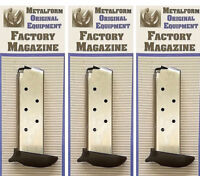 3 Pack of Metalform Fits Sig Sauer P238 .380 7 Round Extended Mags 380793SSE k