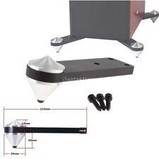 4pcs Aluminum Speaker Isolation Floor Stand Shoes Spikes Subwoofer Feet