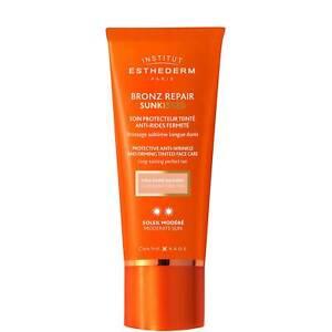 Institut Esthederm Bronz Repair Anti-Wrinkle Tint Face Protect 50ml RRP £56