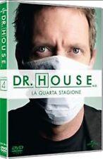 Dvd Dr. HOUSE MEDICAL DIVISION - Stagione Quarta 4 (Box 4 Dvd) ......NUOVO