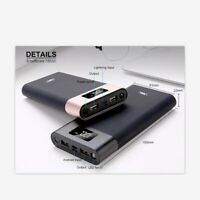 High quality rechargeable multi Port power bank 20000mah