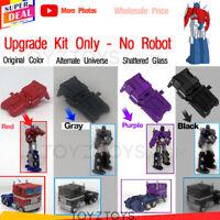 ARRIVAL 3D upgrade KIT bag armor FOR earthrise Optimus Prime NEW