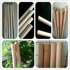 More details for 10 wooden handles size 4'x24mm job lot broom snow shovel handle sweep brush