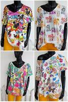 ☀️ dw-Empire: fetzige Sommer-Shirts freche Designs mehrfarbig EG 36-46 NEU ☀️