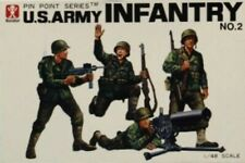Bandai 1:48 US Army Infantry No.2 Plastic Figure Kit #8287