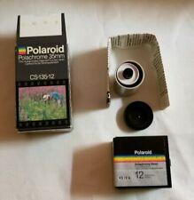 Polaroid Polachrome 35mm NEW CS-135-12 Autoprocess Color Transparency Film Vtg