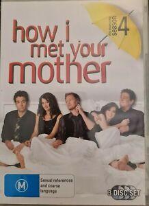 How I Met Your Mother - Season 4 (3 DVDs) - Region 4