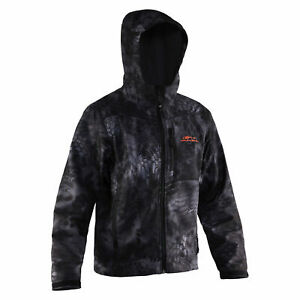 Gage by Grundens Midway Hooded Softshell Kryptek Typhon Camo, CGTH100T