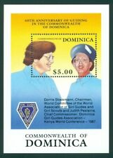 Dominica Scott #1231 MNH Commissioners Girl Guides Girl Scouts CV$5+