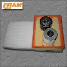 SERVICE KIT RENAULT LAGUNA II 1.9 DCI FRAM OIL AIR FUEL CABIN FILTER (2001-2007)