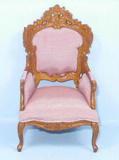 HANSSON ARM CHAIR MINIATURE DOLL HOUSE FURNITURE MINIATURES