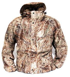 CABELA'S Men's Mossy Oak DUCK BLIND Waterfowl Waterproof Quiet Hunting Jacket