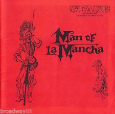 "Jose Ferrer ""MAN OF LA MANCHA"" Wilbur Evans / Mitch Leigh 1967 Baltimore Program"