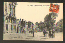 Tours (37) Boulevard Heurteloup lively in 1913