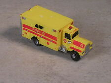 N Scale Yellow #6 Heavy Rescue Truck