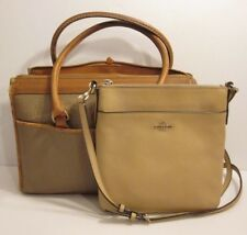 Coach 52348 & Dooney & Bourke AS IS S Lot of 2 Crossbody Tote Shoulder Bag Purse