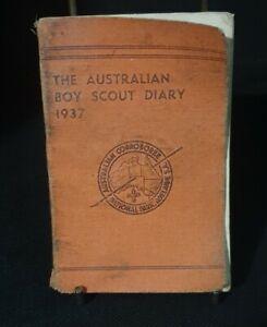 THE AUSTRALIAN BOY SCOUT DIARY 1937