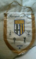GAGLIARDETTO PENNANT AC PARMA COPPA UEFA CALCIO FOOTBALL ORIGINALE