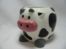 Holstein Cow 20 Oz Large Coffee Tea Cocoa Mug Cup 3-D Figural Hand Painted New