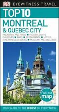 NEW - Top 10 Montreal and Quebec City (Eyewitness Top 10 Travel Guide)