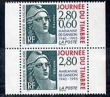 STAMP / TIMBRE FRANCE NEUF N° 2934A ** JOURNEE DU TIMBRE MARIANNE / DE CARNET