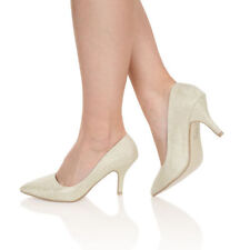 Flat (less than 0.5') Court Bridal Shoes