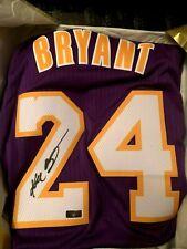 Los Angeles Lakers Kobe Bryant Autographed Signed Adidas Jersey Panini COA BNWT