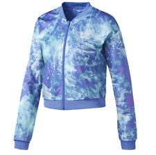 NEW Women's Adidas Originals Ocean Elements Crop Track Jacket Size: X-Large