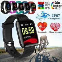 116 PLUS Smart Bracelet D13 Heart Rate Blood Pressure Waterproof Smart Watch