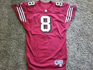 1999 Steve Young San Fransisco 49ers Team issued Autographed Nike Jersey 44 Game