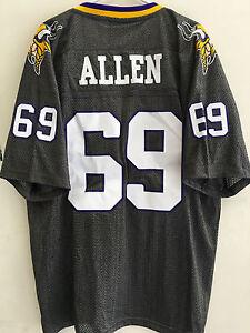 Reebok Premier NFL Jersey Minnesota Vikings Jared Allen Grey sz S