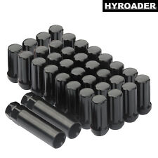 """32pc 2"""" Tall Extended 9/16"""" Wheel Lug Nuts for Dodge Ram Dually 3500 2000-2010"""
