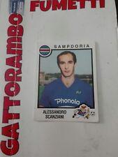 Figurine Calciatori  - N.240 Scanziani Sampdoria Con Velina- Anno 1982-83 Panini