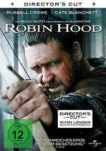 Robin Hood [Director's Cut] von Ridley Scott   DVD   Zustand gut