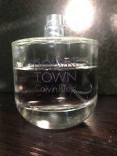 Calvin Klein Down Town Eau De Parfum 3oz 75% Full No box/cap
