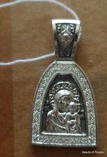 PLATA 282m Colgante Madre Dios KAZAN Consecrated the Relics San Jorge 3