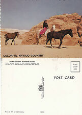 NORTH AMERICAN INDIAN NAVAJO COUNTRY NORTHERN ARIZONA UNUSED COLOUR POSTCARD