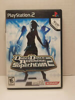 Dance Dance Revolution Supernova 2 Sony Playstation 2 Tested 2006 PS2 Complete