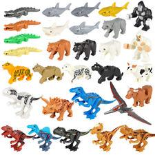 Jungle Animal Park Minifigures Building Blocks Set Panter Tiger Dinosaurs Toy
