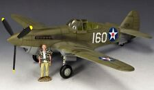 Pearl Harbor P40 Tomahawk AF041 King & Country - Retired WWII Airplane Model