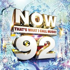 NOW THAT'S WHAT I CALL MUSIC 92 2CD ALBUM SET (November 20th 2015)
