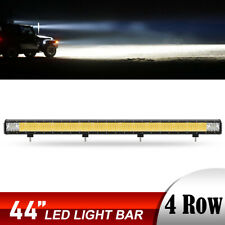 "44Inch 5264W Straight Led Light Bar Combo Offroad Driving 4WD Truck 42"" 46"""