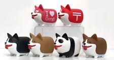 Fat Chubby Corgi Japanese Gashapon 1 Blind Box Capsule Vinyl Toy Dog Figure
