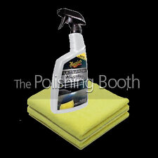 Meguiar's ULTIMATE Spray On Wash and Wax Anywhere with 2 Microfibres Brand NEW