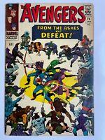 Avengers #24 - Kang Iron Man Thor Captain America Marvel Comics